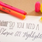 Review: Sharpie Gel Highlighters