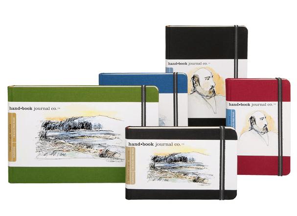 Hand Book Artist Journal Travelogue Series