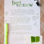 Ink Review: Diamine Meadow