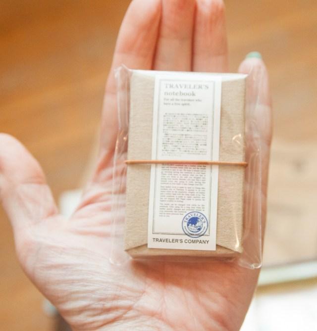 10th Anniversary Traveler's notebook mini