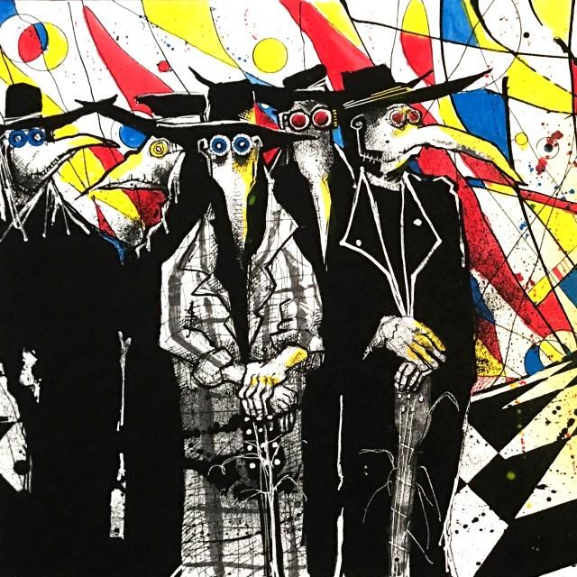 Joey Feldman Pearl Jam Art