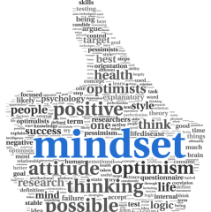 Graphic pic of positive mindset