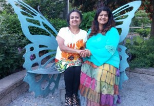 Purnima & Sonali butterfly