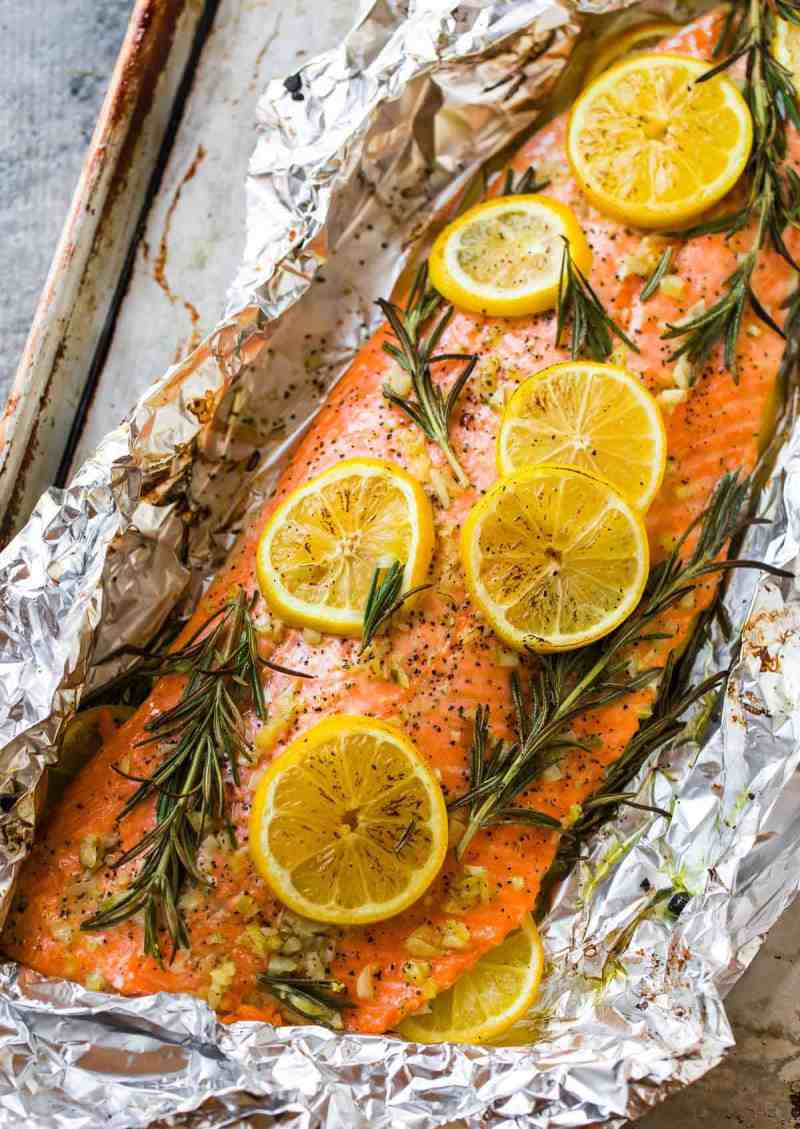 Large Of What Goes Good With Salmon