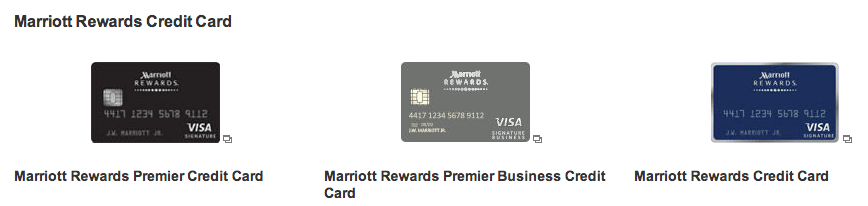 Recent changes to the three marriott credit card offers for Marriott business credit card 70000