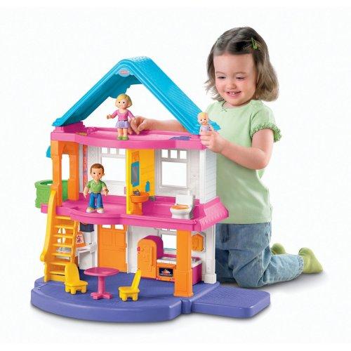 Medium Crop Of Fisher Price Dollhouse