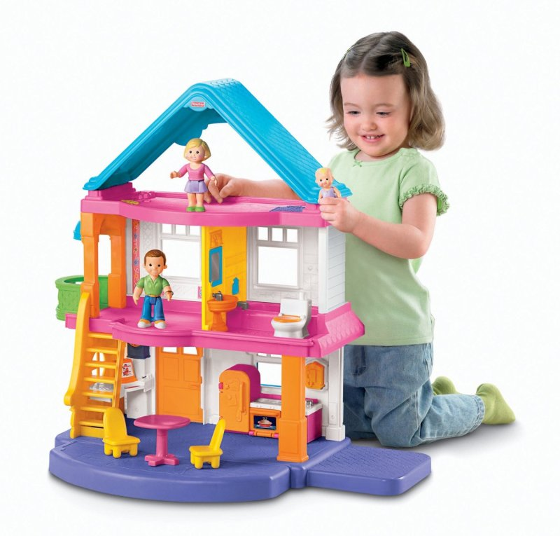 Large Of Fisher Price Dollhouse