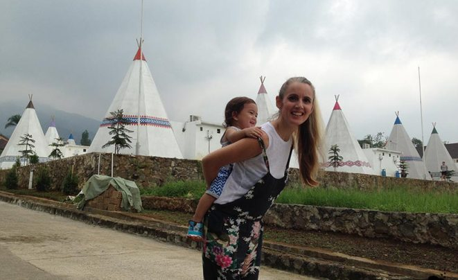 tasha may_welovejakarta_we love jakarta_weekend out of jakarta_what to do on the weekend in jakarta_The Highland Park Resort Hotel Bogor_Mongolian Camp_stay in a teepee