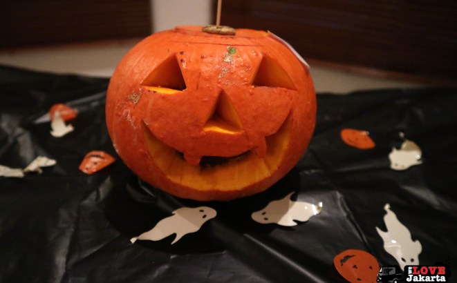 Pumpkin from the carving competition