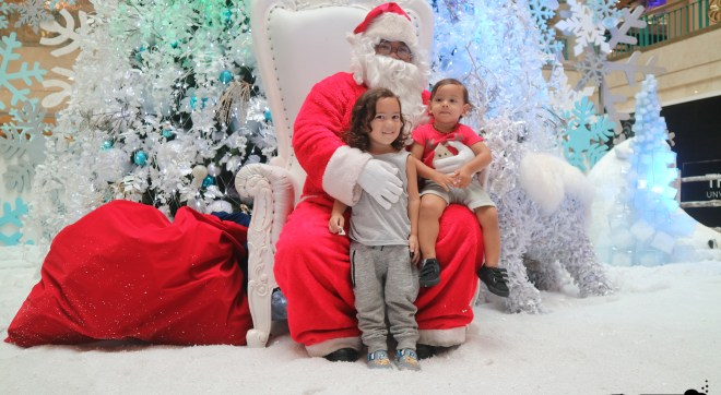 Santa at Plaza Senayan