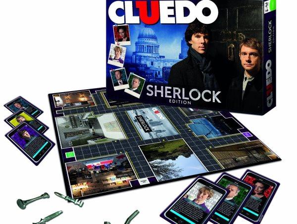 Cluedo Sherlock - Spielmaterial