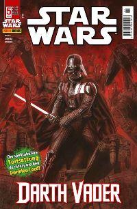 Comic Cover - Star Wars #5: Darth Vader, Rechte bei Panini Comics