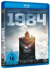 Blu-ray Cover - 1984, Rechte bei Twentieth Century Fox Home Entertainment