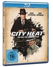 Blu-ray Cover - City Heat – Der Bulle und der Schnüffler, Rechte bei Warner Bros.