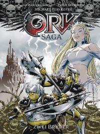 Comic Cover - Ork Saga 1#: Zwei Brüder, Rechte bei cross cult