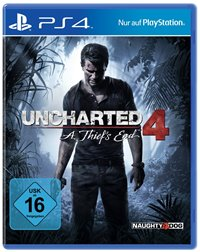 PlayStation 4 Cover - Uncharted 4: A Thief's End, Rechte bei Sony Computer Entertainment