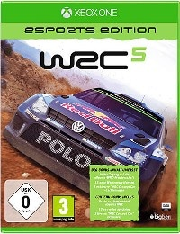 Xbox One Cover - WRC 5 eSports Edition, Rechte bei Bigben Interactive