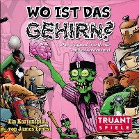 Spiel Schachtel - Wo ist das Gehirn?, Rechte bei Heidelberger Spieleverlag / Truant Spiele
