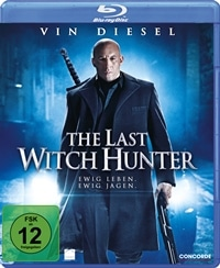 Blu-ray Cover - The Last Witch Hunter, Rechte bei Concorde