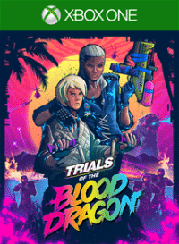 Xbox One Cover - Trials of the Blood Dragon, Rechte bei Ubisoft