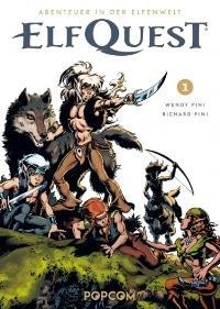 Comic Cover - ElfQuest – Abenteuer in der Elfenwelt, Band 1, Rechte bei popcom