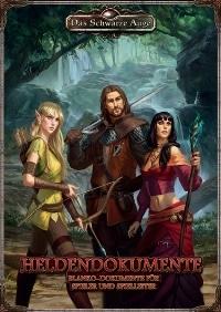 Heldendokumente - DSA5 Charakterbögen, Rechte bei Ulisses Spiele