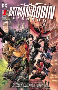 Comic Cover - Batman & Robin Eternal #1: Batmans Geheimnis, Rechte bei Panini Comics