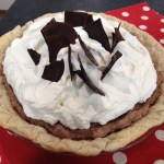 Valentine's Day Chocolate Mousse Pie on Studio 5