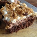 S'more Killer Brownies for your Superbowl party