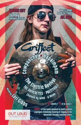 Griffest - Feb 28, 2016 – w/ Napalmpom, The Electric Revival, The Shiverettes, Pretty Ugly, Chained By Mind, and A-Bomb