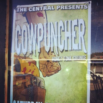Cowpuncher in Fernie @ The Central - Aug 25, 2012