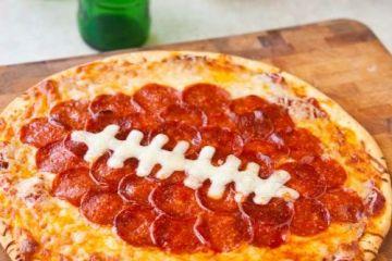 football-pizza-diy