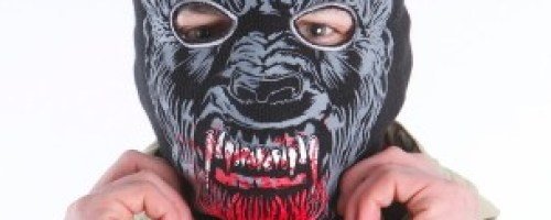 werewolf winter mask