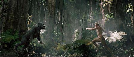 Legend of Tarzan fight