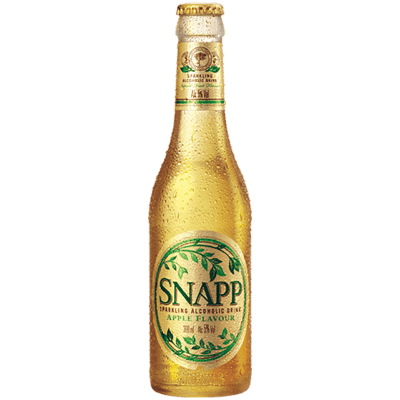 Snapp Apple-Flavoured Alcoholic Drink