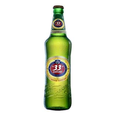 33 Export Lager Beer 60cl Bottle