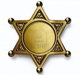 sheriff police badge
