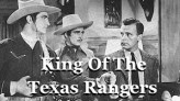 King of the Texas Rangers western serial