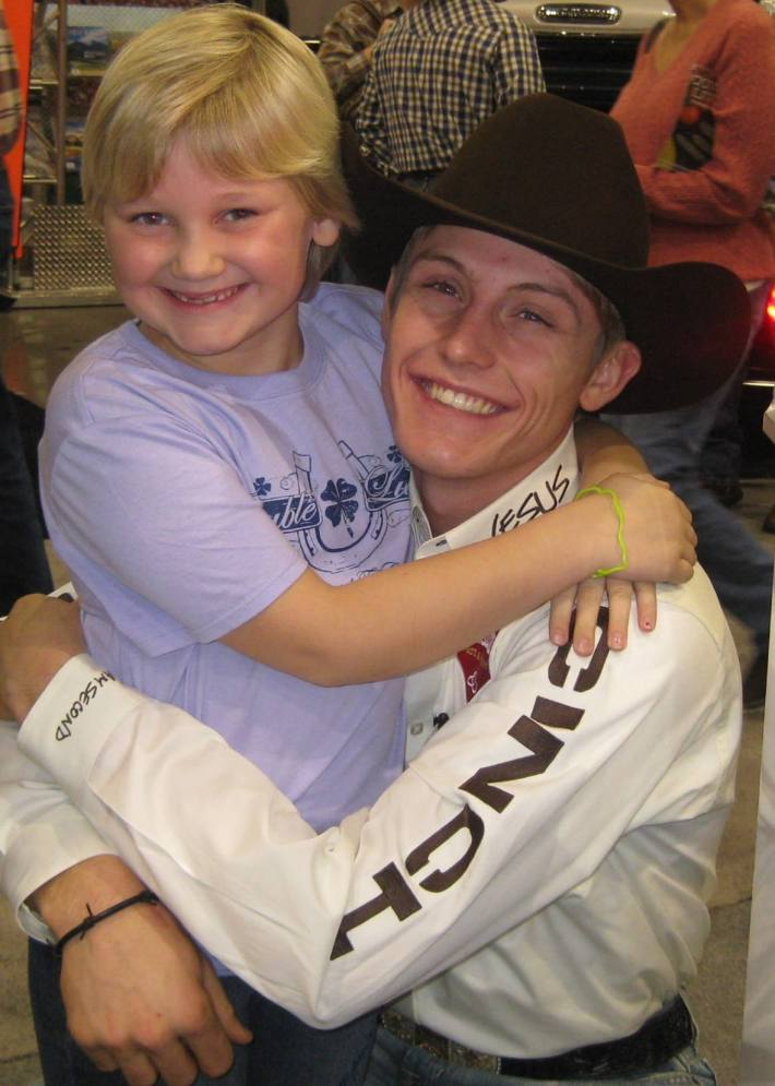 Emma with Tuf Cooper