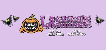 Join the L.A. Cancer Challenge 5K/10K and Kids Can Cure Fun Run October 30 at UCLA. Enter to win a family four-pack registration GIVEAWAY