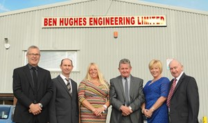 A local company is celebrating 10 years of business in Loughor along with creating 15 jobs at its new Hendy plant.