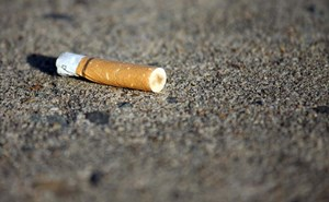 TWO PEOPLE FINED FOR DROPPING CIGARETTE ENDS