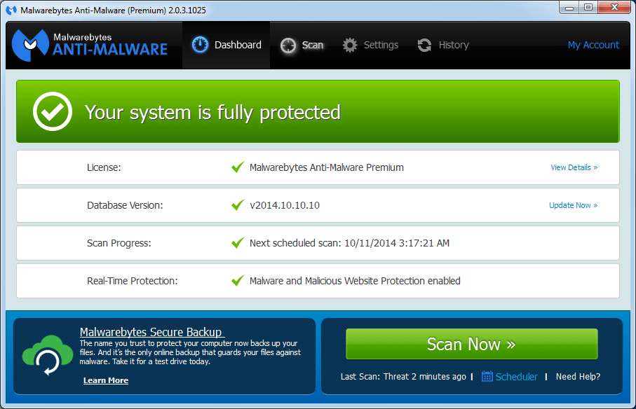 Download Crack Malwarebytes Anti-Malware Premium 2