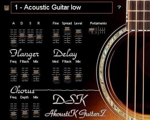 Download DSK AkoustiK GuitarZ Vst Win Mac