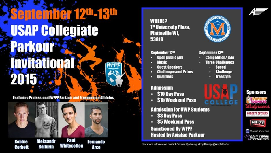 Flyer USAP College Invitational