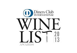 Diners Club Winelist Awards 2