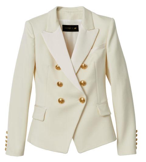 The classy white blazer
