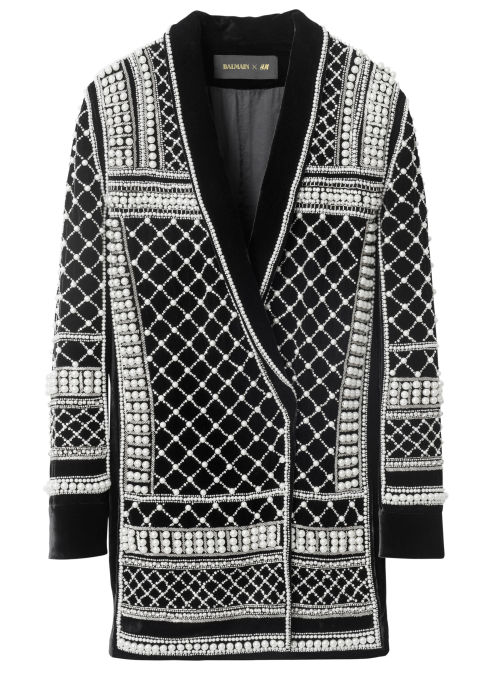 The beaded jacket