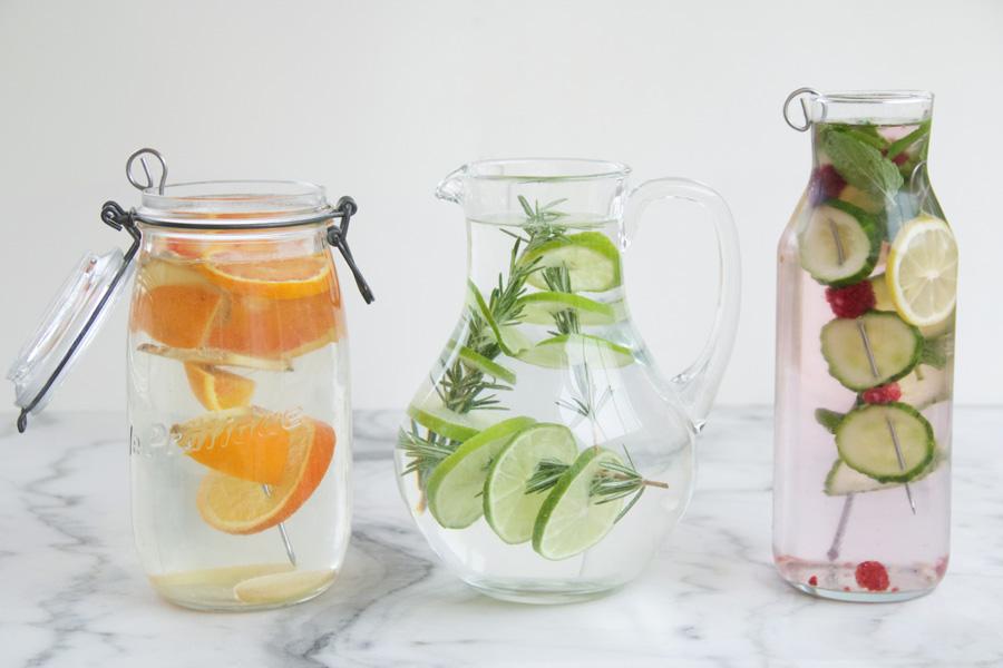 3 infused water recipes from sofiaclara.com