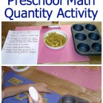 Preschool Math Activity: Oodles of Noodles